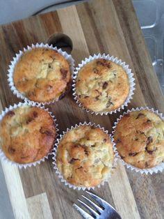 Schnelle Schoko - Bananen - Muffins, ein sehr schönes Rezept mit Bild aus der Kategorie Frucht. 343 Bewertungen: Ø 4,6. Tags: Backen, Frucht, Kuchen