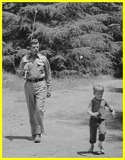The Andy Griffith Show ~ Andy and Son Opie Going Fishing - Andy Griffith and Ronnie Howard