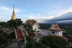 Wat Khao Chong Pran, a little north of Ratchaburi