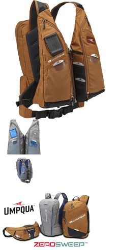 Vests 65982: New 2016 Umpqua Swiftwater Zero Sweep Fly Fishing Tech Vest In Copper Color -> BUY IT NOW ONLY: $169.95 on eBay!
