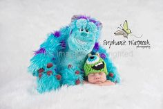 Mike The monster crochet hat Monsters Inc. by KnitsNKnotsByFrances, $17.00
