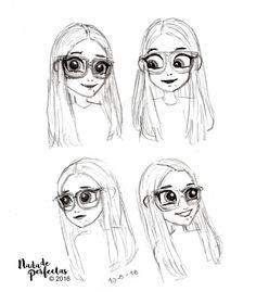 Bocetos sobre #SoyLuna Cómics! Nina, la mejor amiga de Luna Valente, Felicity For Now! Otro de mis bocetos para mis #comicsdesoyluna! Con estos bocetos me ayudé a mi misma a descubrir más rasgos para dibujar a los personajes de Soy Luna!...