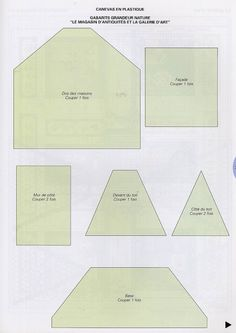 Plastic canvas for Antique shop, Art gallery, and gabarits