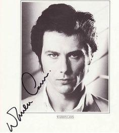Warren Cann autograph