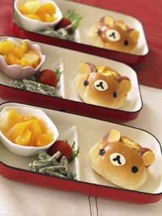 I love tiny things Japanese Food Art, Japanese Sweets, Cute Food, Good Food, Yummy Food, Bento Recipes, Baby Food Recipes, Kawaii Cooking, Cute Desserts