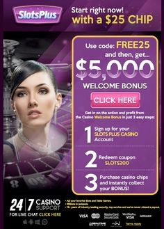 Slots plus provide services like online casino slots, casino games online, free casino games online & many more. For more information visit our website http://slotsplus.us.