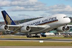 Singapore Airlines, Airbus A380-800