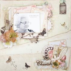 Chrish - Scrapbook.com Prima Delight http://www.littlescrapworld.com/2013/12/layout-cherish.html