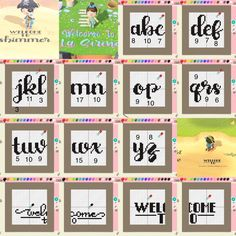 Animal Crossing Guide, Animal Crossing Qr Codes Clothes, Alfabeto Animal, Path Design, Grid Design, Design Ideas, Bug Images, Welcome Design, Happy Home Designer