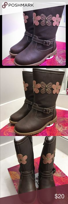 Girls boots size 9M Rachel shoes New with tags and box will ship same day or next. Rachel Shoes Shoes Boots