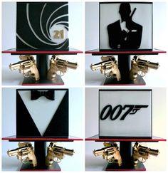 Amazing James Bond 007 Cake - Little Wish Cakes
