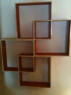 Knick Knack Shelf Made Of A Single Piece Of Plywood | Homeyness | Pinterest  | Knick Knack Shelf, Plywood And Shelves