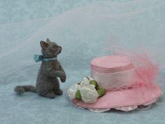 Fluffy Grey Kitty by Paizley Pawz