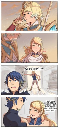 yes when I saw Lucina<<Absolutely. and her name is Lucina.