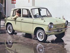 Mazda Carol 360 Deluxe (KPDA) '1962–70