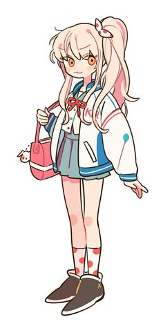 Art by 손털 Cute Art Styles, Cartoon Art Styles, Art And Illustration, Character Design References, Character Art, Cartoon Kunst, Kawaii Art, Character Design Inspiration, Pretty Art