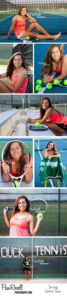 Senior Portraits, Tennis Senior Photos, Sports Senior Photos Central Texas (C)Pam Rowell Photography www.pamrowellphotography.com