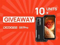 Sorteio de 10 Smartphones DOOGEE S97 Pro Lg Smartphone, Online Contest, Free Deals, Online Drawing, Giveaway, The Unit, Smartphones, June, China