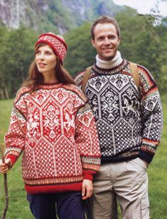The Lillehammer Olympic 1994 swather by Margaretha Finseth. This out of print Dale of Norway pattern is now available for free download.