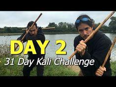 DAY 2 - Kali Drills 31 Day Challenge - Escrima Double Sticks
