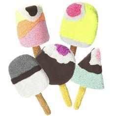 Farverige sommer is lavet med Foam Clay & Silk Clay