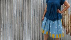 How to sew your first skirt and understand sewing patterns - Learning to sew and understand patterns (aff link)