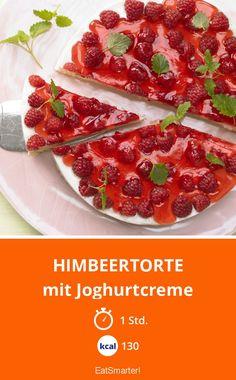 Himbeertorte - mit Joghurtcreme - smarter - Kalorien: 130 kcal - Zeit: 1 Std. | eatsmarter.de