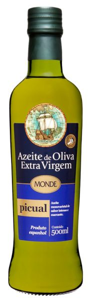 Azeite de Oliva Extra Virgem Picual  VD 500 ml MONDE