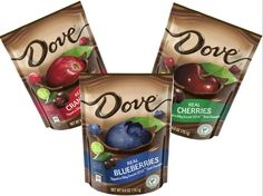 These Dove dark chocolate covered blueberries that I got in my Influenster Vox Box are SO YUMMY. #addicted #DOVEwithRealFruit #bellavoxbox