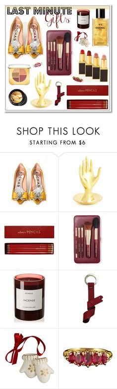 """#PolyPresents: Last-Minute Gifts"" by hellodollface ❤ liked on Polyvore featuring Tom Ford, Jonathan Adler, Sloane Stationery, Bobbi Brown Cosmetics, Byredo, TIBI, Belleek Living, contestentry and polyPresents"