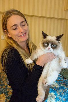 Grumpy Cat #GrumpyCat #Photos