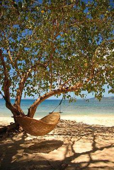 A swing in a hammock #savidayspa #relaxation