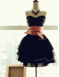 high fashion 2014 prom dresses,short sleeveless staplessdress, custom made evening gowns, party dresses
