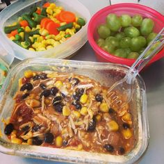 21 Day Fix Crockpot Chicken Chili
