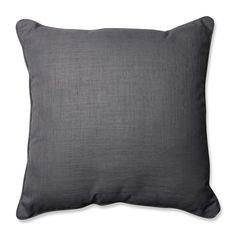Rave Graphite 25-inch Floor Pillow