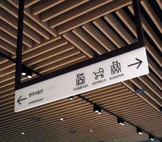 Signage and wayfinding for South Korean department store The Hyundai by graphic design company Studio fnt