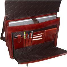 Mancini Leather Goods Luxurious Italian Leather Laptop Briefcase  http://www.alltravelbag.com/mancini-leather-goods-luxurious-italian-leather-laptop-briefcase-2/