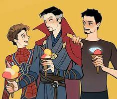 Tony didn't look like happy. Marvel Dc Comics, Marvel Avengers, Memes Marvel, Marvel Funny, Strange Family, Dr Strange, Tony Stark, Stucky, Wattpad