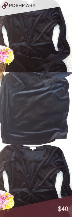 I just added this listing on Poshmark: Gianni Bini black velvet cut out waist dress.. #shopmycloset #poshmark #fashion #shopping #style #forsale #Gianni Bini #Dresses & Skirts