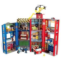 """Our friend Sarah reached out for shopping help when her three year old son's request left her stumped. """"I have no idea what Cade is talking about, but he keeps saying he wants a dollhouse for boys that has a gym!? Has anyone seen a dollhouse-type toy for a boy? I don't care if it's for a girl, but he is aware of pink being for girls so everything I suggest is apparently only for little sister Harper."""" We all racked our brains for ideas until our friend Amy mentioned the KidKraft Everyday…"""