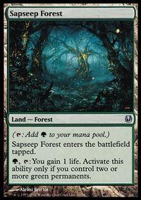 Sapseep Forest - Land - Cards - MTG Salvation