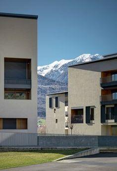 Mallero Housing, Sondrio, 2013 - act romegialli
