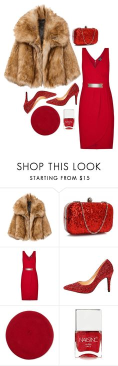 """""""Chic magic"""" by perpetto ❤ liked on Polyvore featuring City Chic, Forever 21 and Nails Inc."""