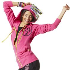 Mo' Fun Mohawk Hoodie | Save 10% on Zumba® wear on zumba.com. Click to shop with 10% discount http://www.zumba.com/en-US/store/US/affiliate?affil=10sale
