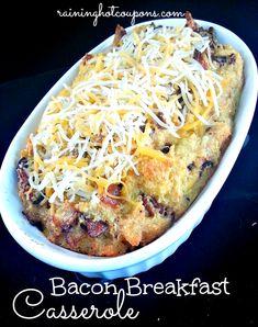 Bacon Breakfast Casserole Recipe