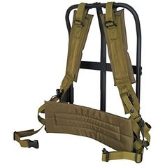 ba2259e20e4 Ultimate Arms Gear Black with OD Olive Drab Green Pad   Straps LC-1  A.L.I.C.E. Field Pack Frame
