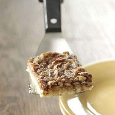 Maple Pecan Bars Recipe - Taste of Home (Amanda Spearing, Newton, IA)