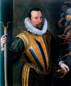 Portrait of a Knight, painter is from Lombardy. Como, Musei Civici