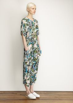 No. 6 Wallace Jumpsuit (Gardenia Print)