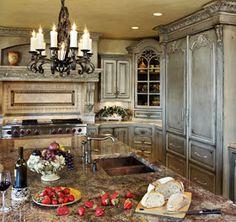 Kitchen Remodel Designs: Old World Kitchen Ideas